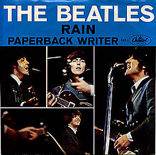Beatles Rain and Paperback Writer